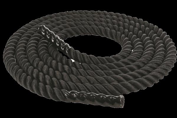 Канат для кроссфит черный