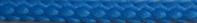 шнур для вязания ковров полиэфирный 5мм голубой